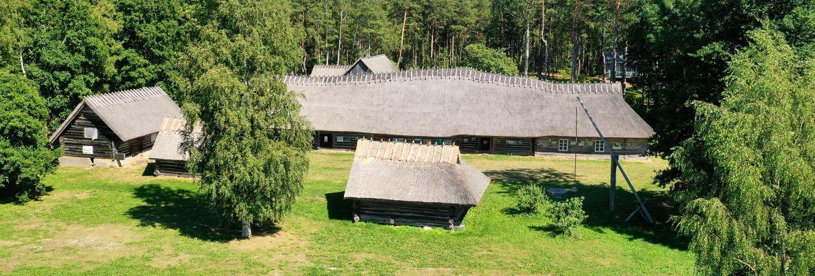 Traditional farmhouse on Ruhnu
