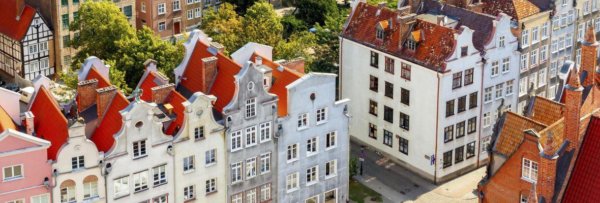 Gdansk, historic centre