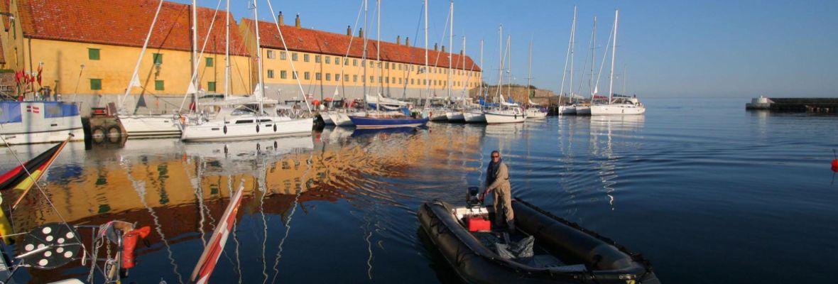 Christiansø, most easterly part of Denmark