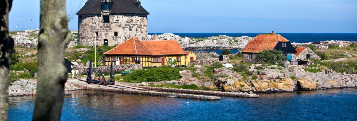 Island of Frederiksø, little sister to Christiansø