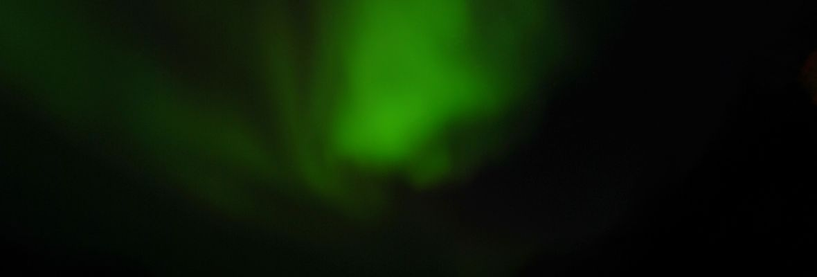 In September, there is chances to see the northern lights dance (aurora borealis)