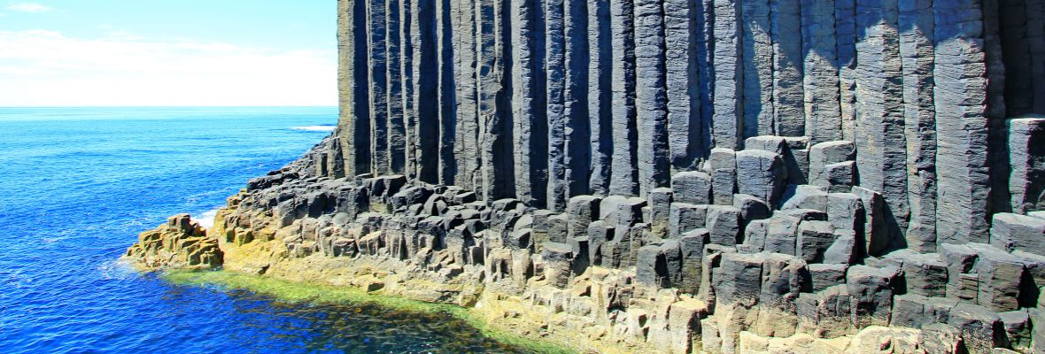 Basalt columns at Staffa