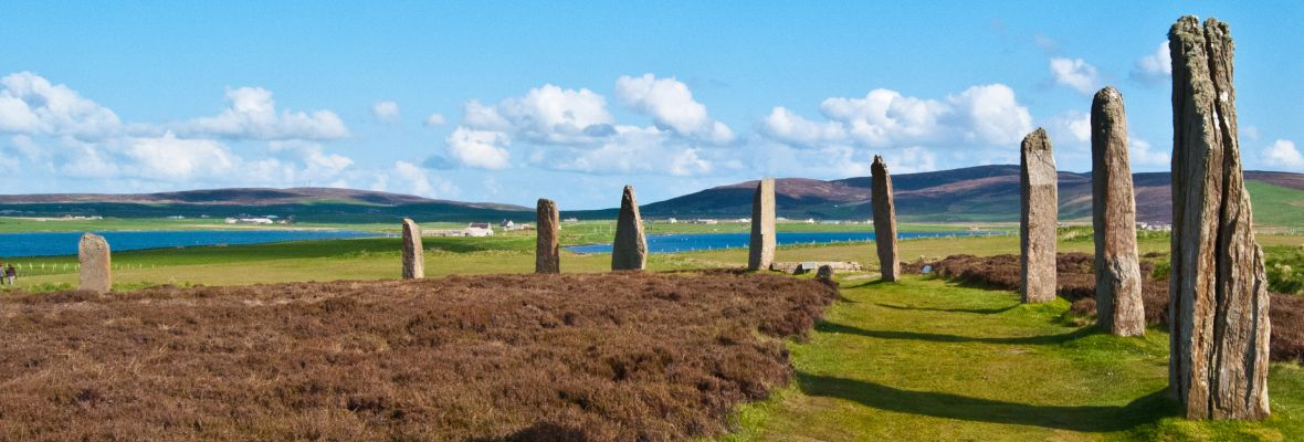 Orkney Island. Ring of Brodgar.